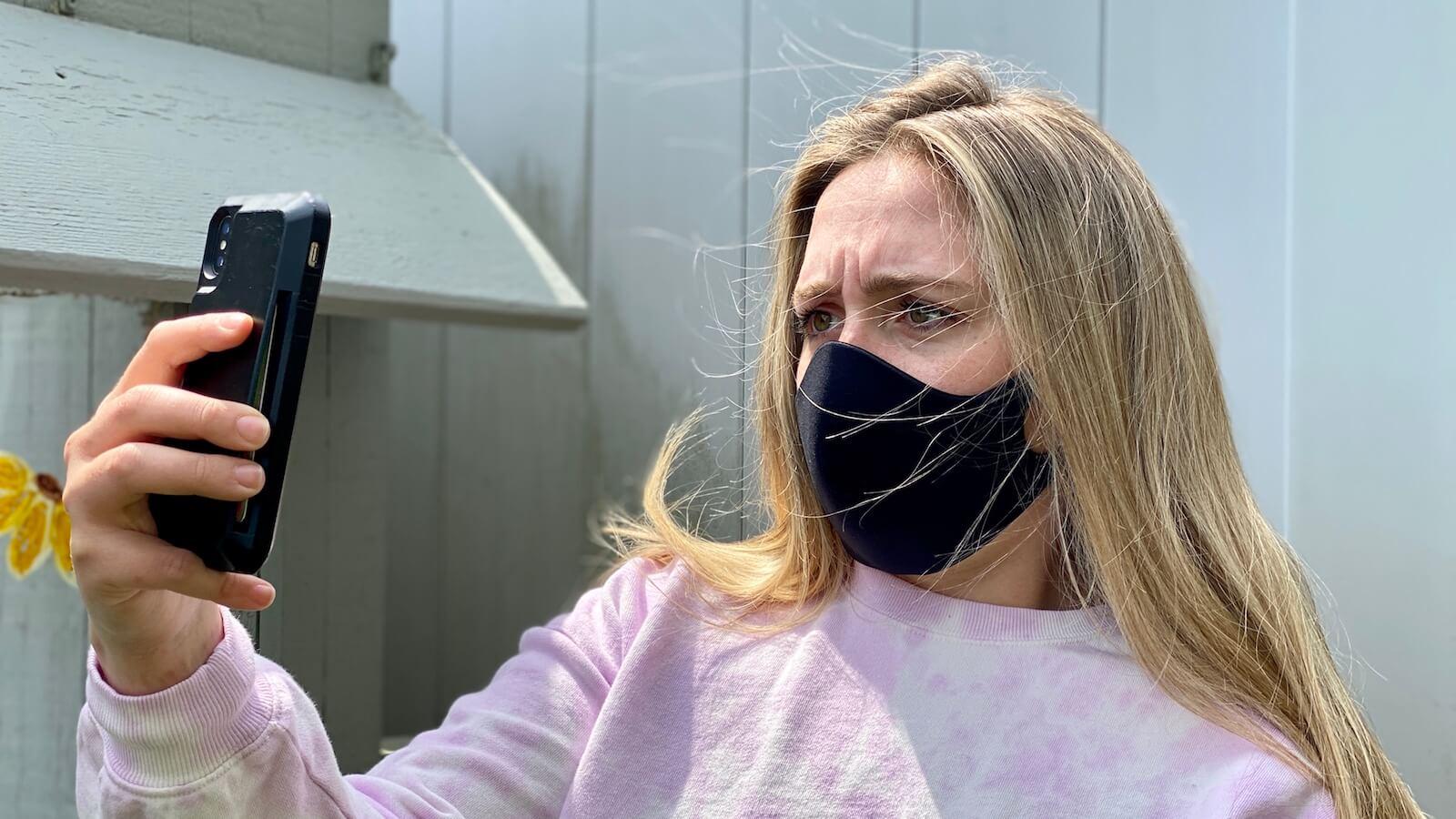 Как использовать Face ID на iPhone c маской на лице