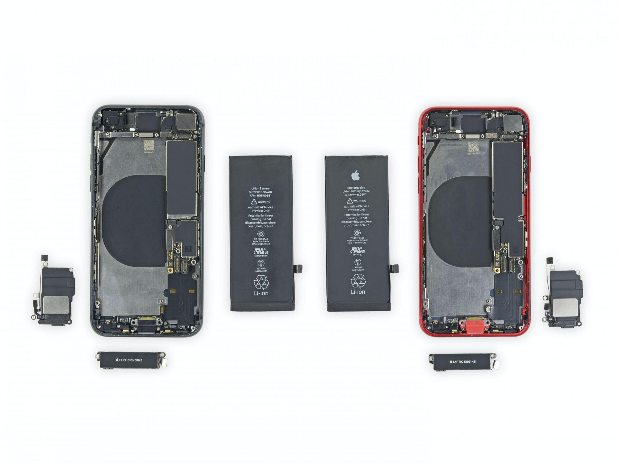 iPhone SE в разборе